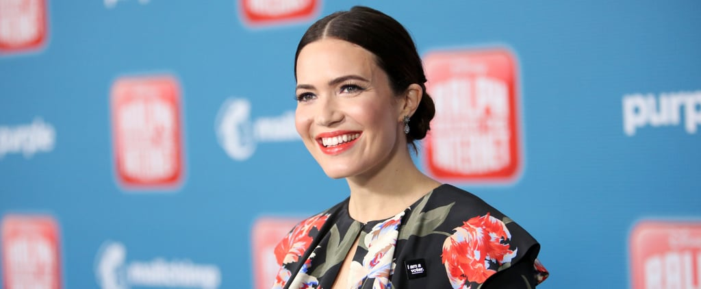 Mandy Moore Floral Dress Ralph Breaks the Internet Premiere