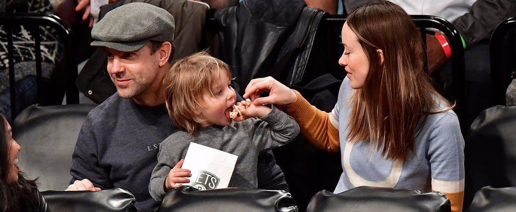 Olivia Wilde and Jason Sudeikis's Son Is Clearly More Interested in His Popcorn Than Basketball