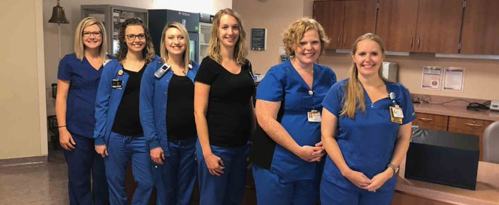 6 Women Who Work at the Same Hospital Are Pregnant at Once