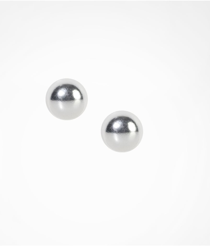Express Sterling Silver Stud Earrings
