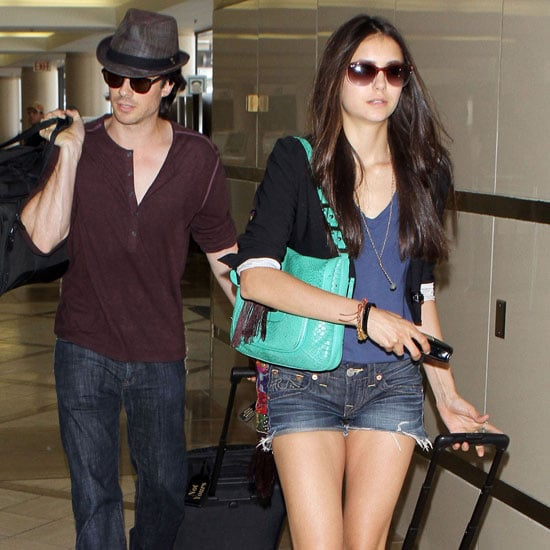 Ian Somerhalder and Nina Dobrev Pictures After the TCAs