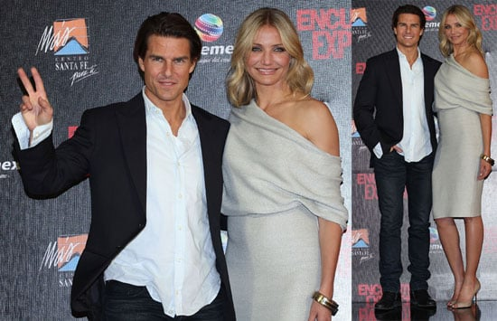 Tom Cruise and Cameron Diaz Promoting Knight and Day in Mexico City 2010-07-08 19:00:53
