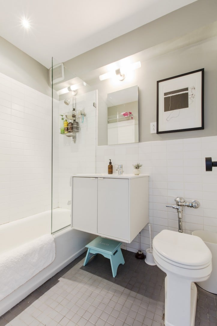 Floating Vanity These Small Bathrooms Are So Elegant They Could Rival A Spa Popsugar Home Photo 12