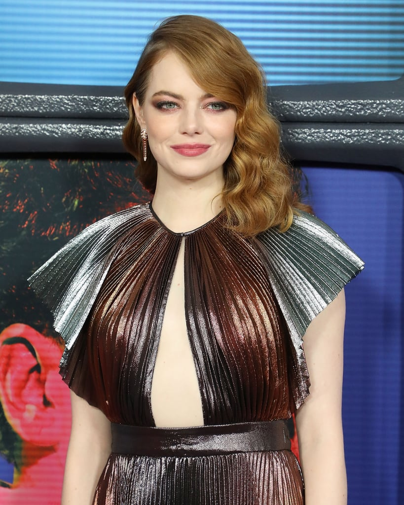 Emma Stone Givenchy Dress Maniac Premiere 2018