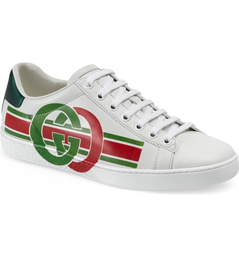 Gucci New Ace Logo Sneaker