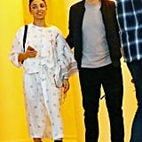 Robert Pattinson and FKA Twigs attended an event in Miami on Thursday night.
