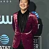 Ken Jeong at the 2019 Critics' Choice Awards