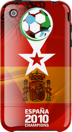 Spain World Cup Champion iPhone Case