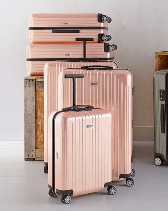 I travel pretty frequently for both work and pleasure, so my luggage tends to get rolled out — and beaten up — often. I'd love a piece of hardcase luggage from Rimowa ($495-$625) to replace my ready-to-be-retired suitcase. Jet-setters including Jessica Alba and Kanye West are fans of the brand's indestructible, luxurious pieces, and I've fallen for its latest offerings in a sophisticated shade it's calling pearl rose. — Lindsay Miller, entertainment editor