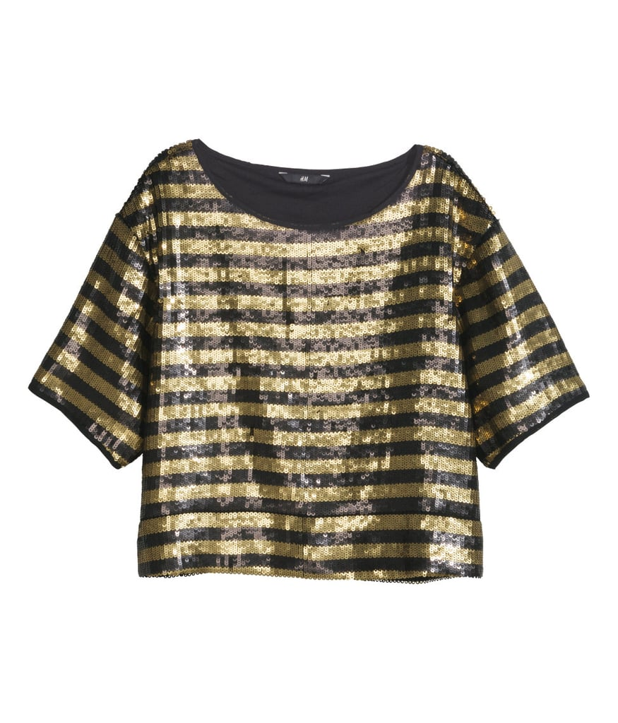H&M Sequined Top ($35)