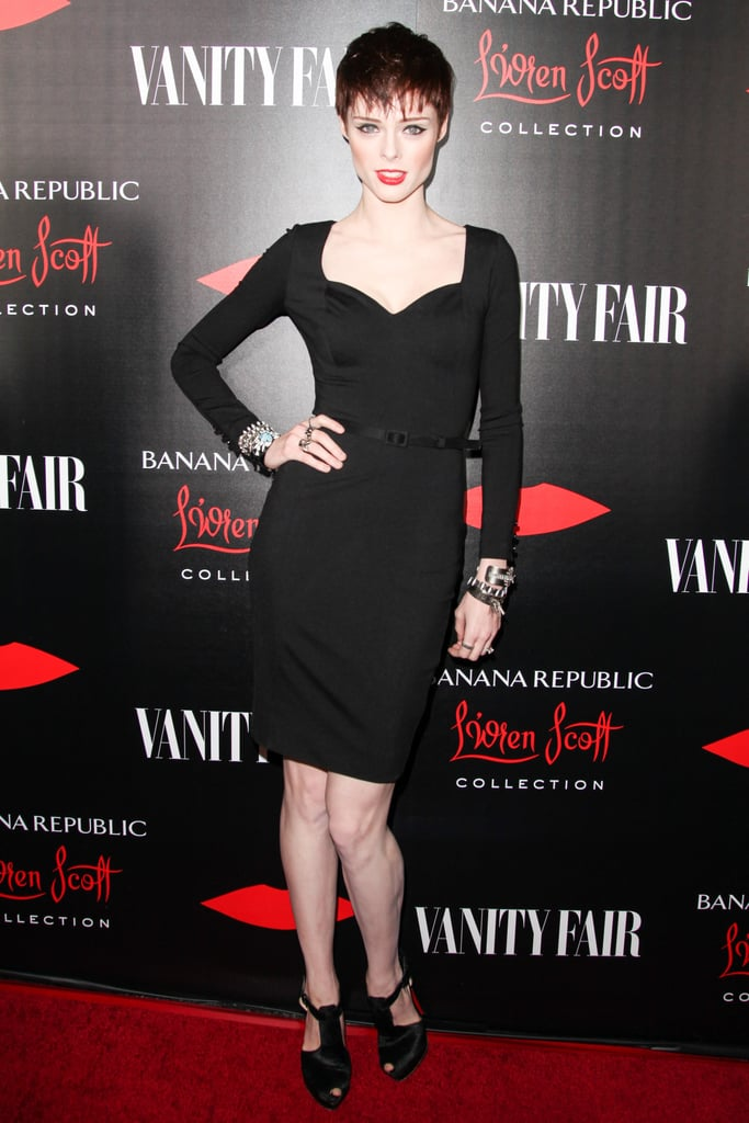 Coco Rocha at the Banana Republic L'Wren Scott Collection launch.
