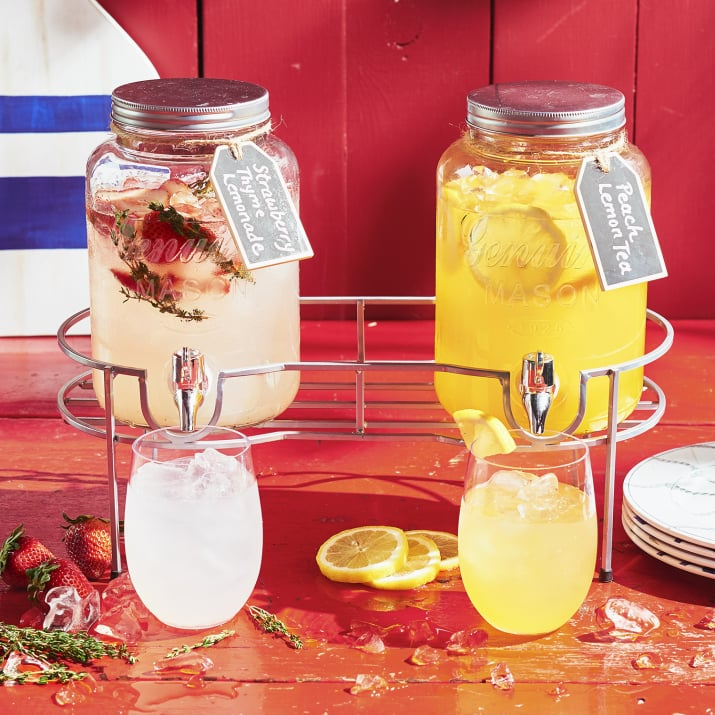 Sur La Table Mason Jar Beverage Dispenser ($30)