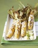 Grilled Corn With Lime and Cheese