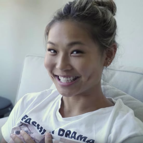Chloe Kim Reacts to Adorable Old Snowboarding Videos
