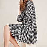 Sterling Houndstooth Tunic Dress