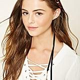 Forever 21 Rose Flower Crown Headwrap ($5)