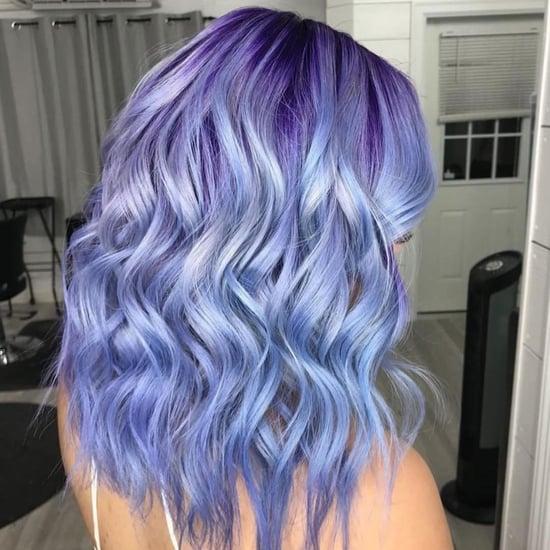 Periwinkle Hair Colour Trend