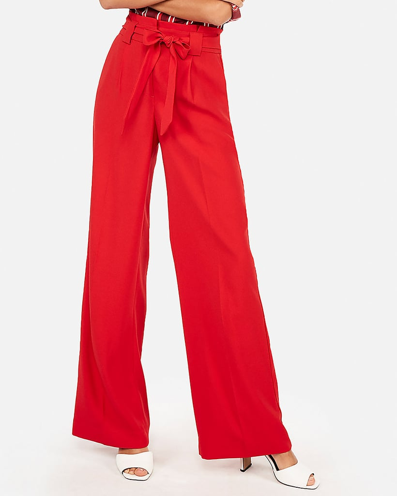 0c558cfa56e Express High Waist Wide Leg Pants