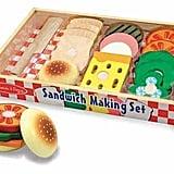 Melissa & Doug Sandwich Making Set — Wooden Play Food