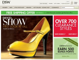 Fab Site: DSW.com