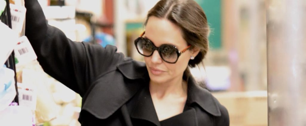 "Angelina Jolie Just Went Grocery Shopping in Our Dream ""Incognito"" Sunglasses"