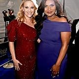 Pictured: Reese Witherspoon and Mindy Kaling
