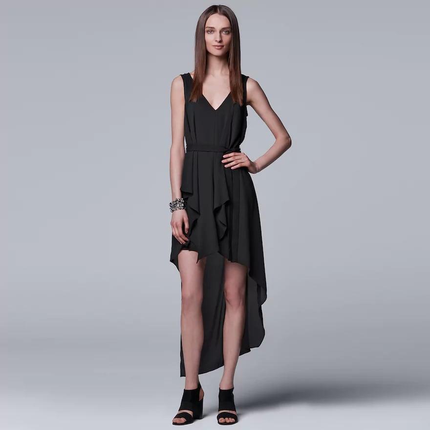 81228581 Simply Vera Vera Wang Ruffled High-Low Hem Dress | Cheap Wedding ...