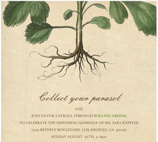 John Derian For Paperless Post Invitation