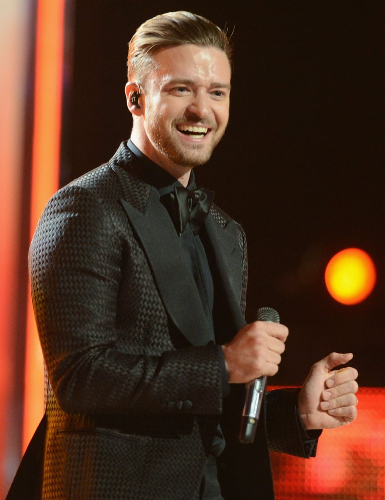 Justin Timberlake took the stage at the BET Awards.