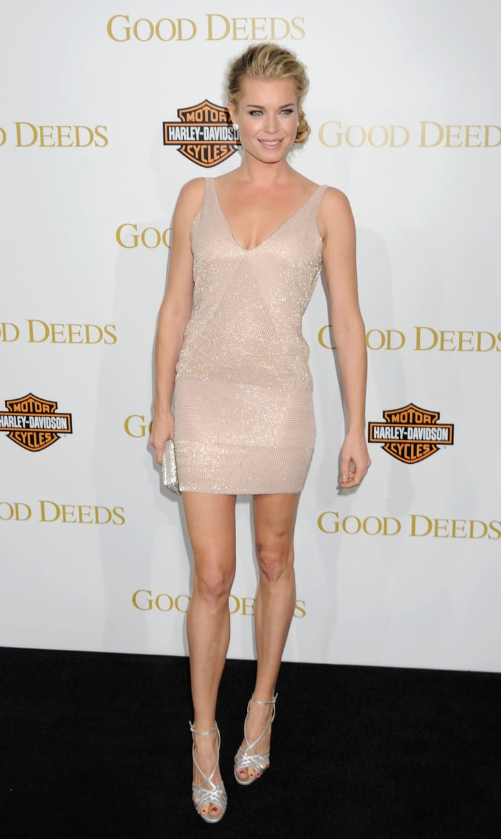 Rebecca Romijn Looked Effortlessly Chic, And Sported Mile -1070