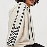 H&M x Pringle of Scotland Fine-Knit Hooded Sweater