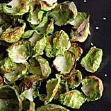 Crispy Brussels Sprout Crisps