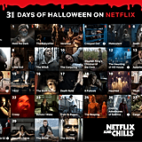If you need a calendar to keep track of every spooky movie and TV series to stream this month, we suggest saving this to your phone or desktop ASAP!