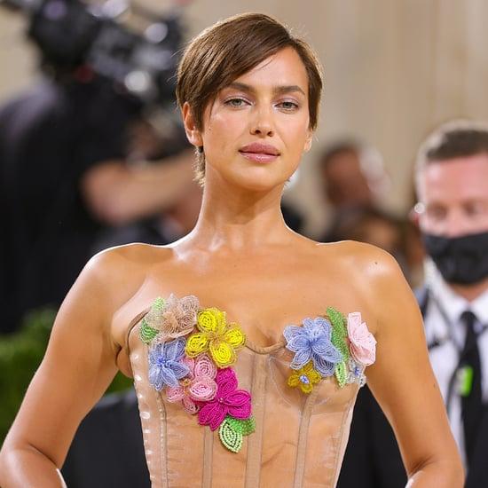 See Irina Shayk's Pixie Haircut at the Met Gala 2021