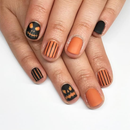 Best Halloween Nail Art For Short Nails