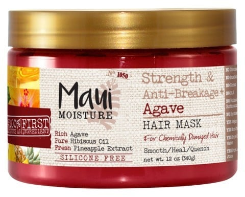 Maui Moisture Strength & Anti-Breakage + Agave Hair Mask For Chemically Damaged Hair