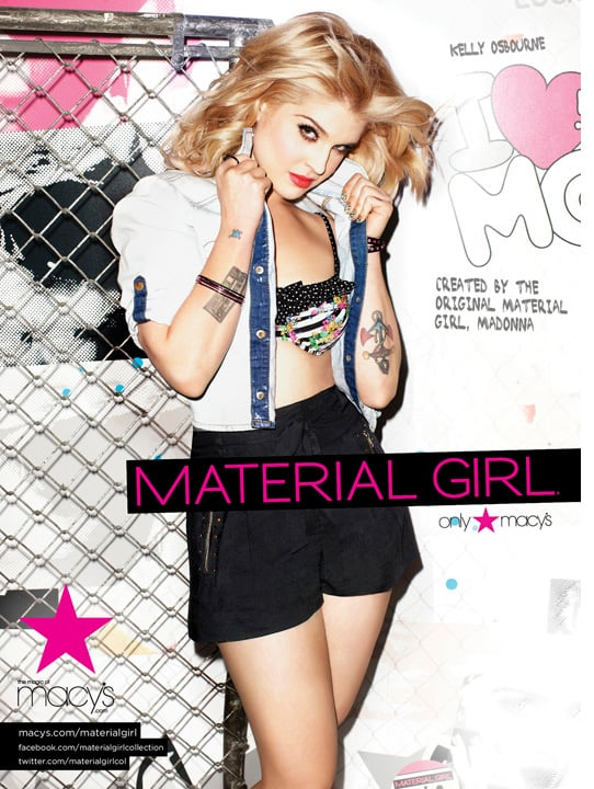 Photos of Kelly Osbourne for Madonna's Material Girl Collection 2011-02-24 03:56:29