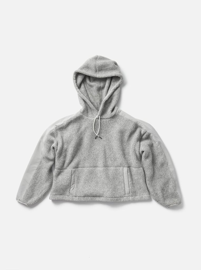 Holden Cropped Sherpa Hoodie