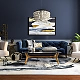 Cinderella-Inspired Midcentury-Living Room