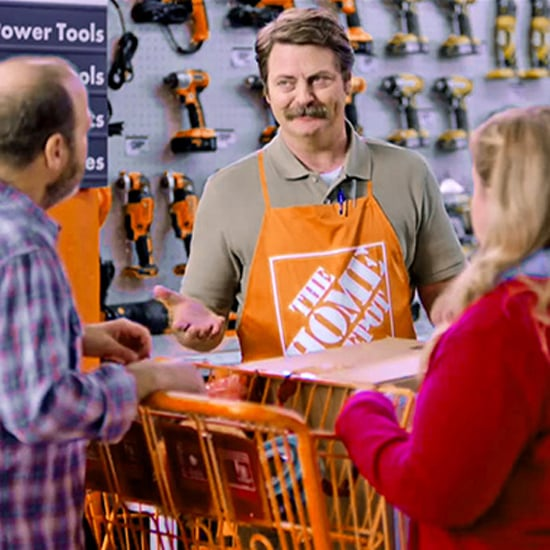 Nick Offerman Home Depot Commercial