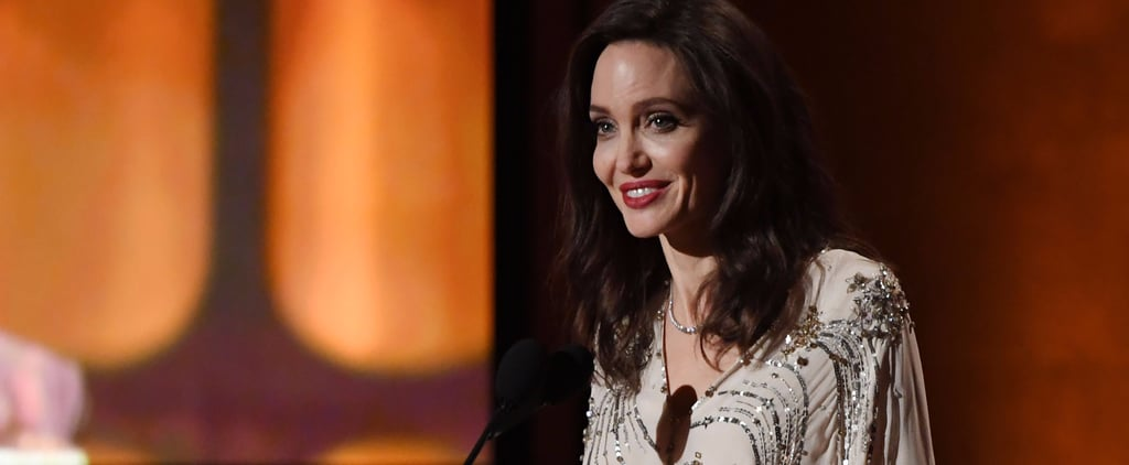 Angelina Jolie's Sequinned Gown Is the Epitome of Modern Glamour