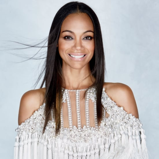 Zoe Saldana on the Cover of Allure Magazine July 2016