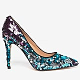 Dorothy Perkins Galaxy Sequin Court Shoes
