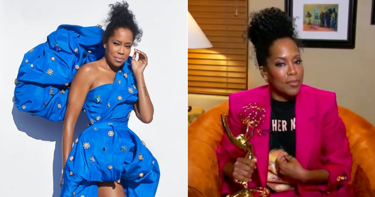 Regina King Changed From a Couture Gown to a Breonna Taylor T-Shirt at the Emmys