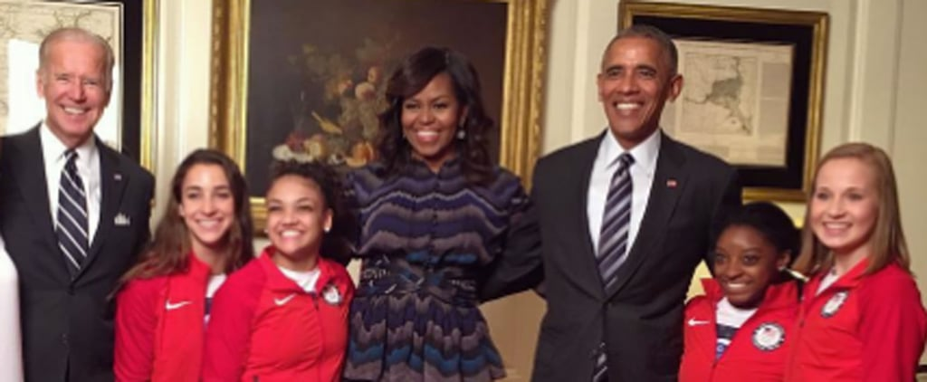 The Final Five Visited the White House and Convinced the President to Try a Split