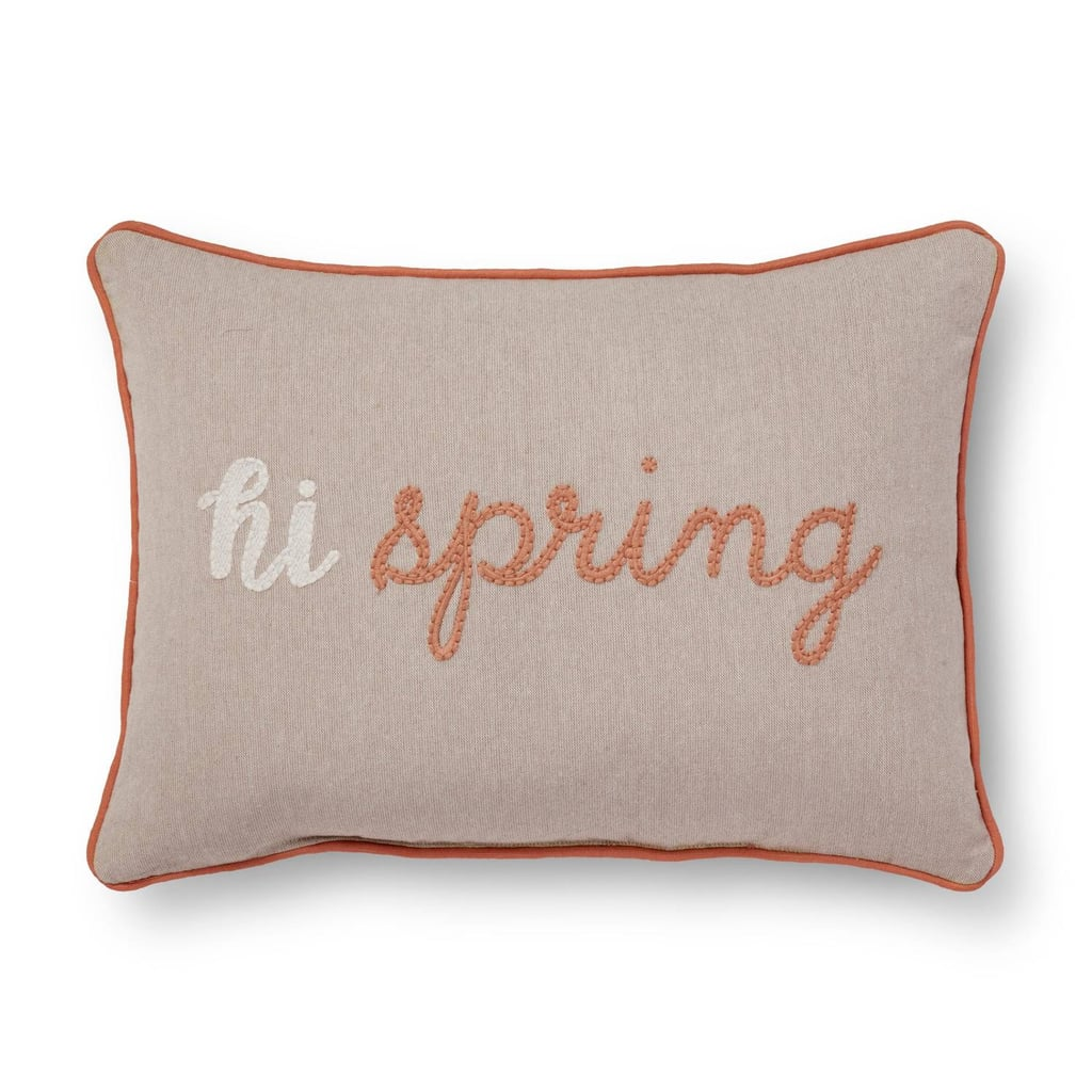 Pink spring throw pillow 18 cheap products at target for Buy pillows online cheap