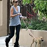 Chloe (and LC) Take an LA Walk