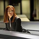 Black Widow in Captain America: Winter Soldier
