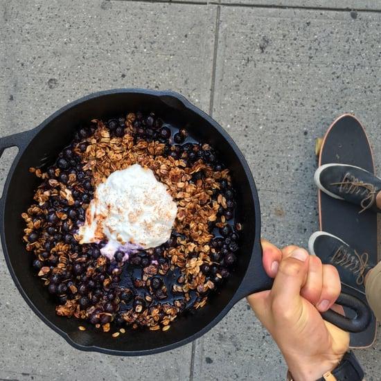 Dan Churchill's One Pan Blueberry Crumble Recipe