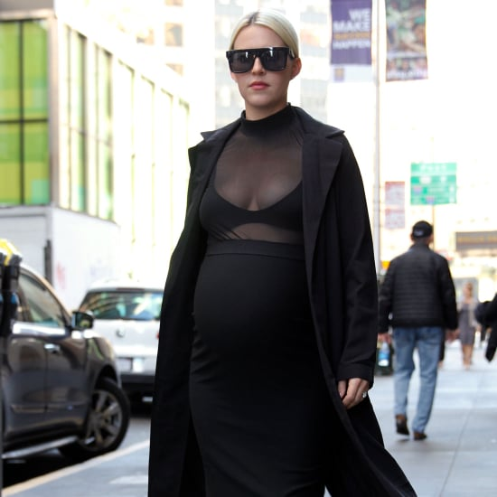 Pregnant Woman Tries Kim Kardashian's Pregnancy Outfits